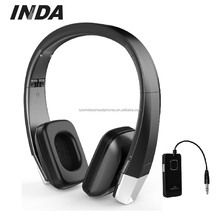 Folding On Ear Wireless 2.4Ghz Metal Detecting Headphones