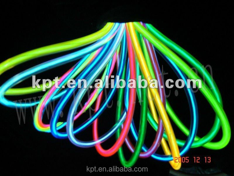 Hight intensity EL wire high quality multi-color for decoration and party