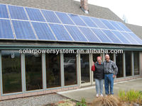 5000W Hot sales with MPPT controller home solar power system kit