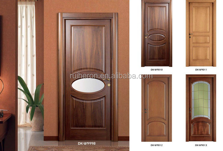 2017 Latest new designed wooden door made in China