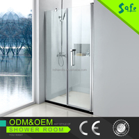 shower tray tempered glass shower screen