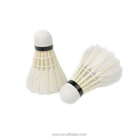 Top Cock Donzel Natural Feathers Shuttlecocks Badminton Factory Price