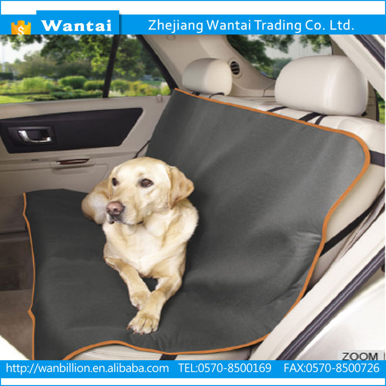 600D oxford deluxe comfortable anti-UV beautiful hot-sale practical dog pet car seat cover