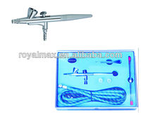 Airbrush Kit AB-207K.hobby tattoo.royalmax hot sales airbrush compressor hobby airbrush body art.modelling .,