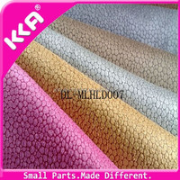 Softing colorful synthetic leather material