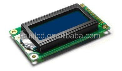 rohs lcd 8x2 LCD module blue Character 8x2 lcd display module