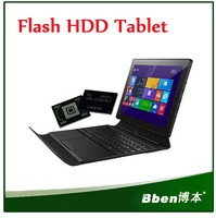 Windows 8.1 Tablet pc Flash HDD wifi bluetooth keyboard 10.1 inch multi-Touch Screen Intel Baytrail-T SOC 3735D