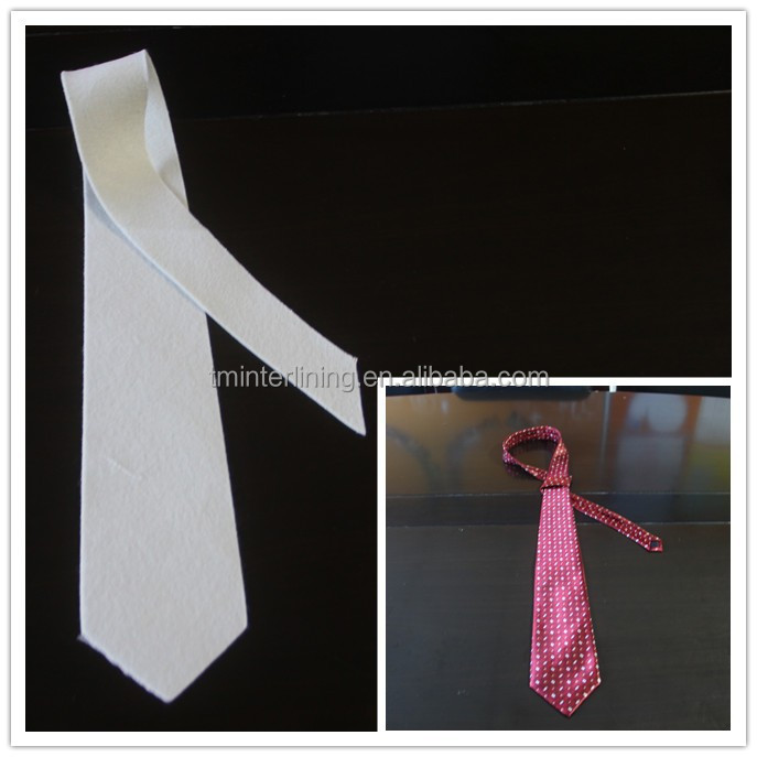 best selling neck tie interlining garment accessories