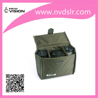 Custom DSLR Photo Polyester Camera Insert Bag