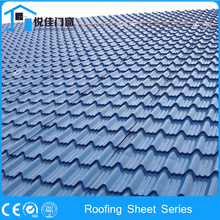 Latest technology corrugated galvanized roof tiles model house