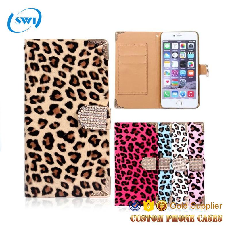 China wholesale Magnetic cell phone case for iphone 6,for iphone 6 case wallet,leather for iphone6 case