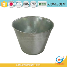 Garden galvanized or iron raised planter arrangements flower planter pot
