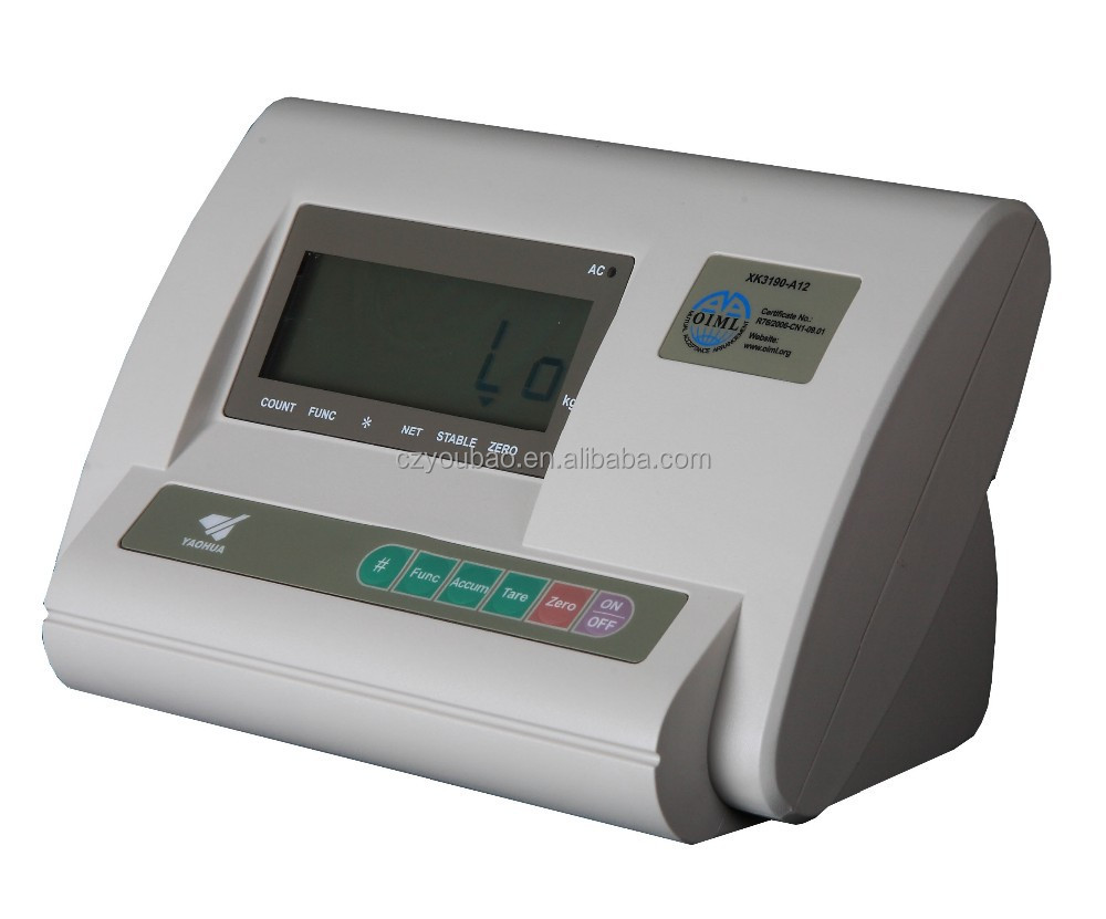 platform scale Yaohua A12 electronic weighing indicator