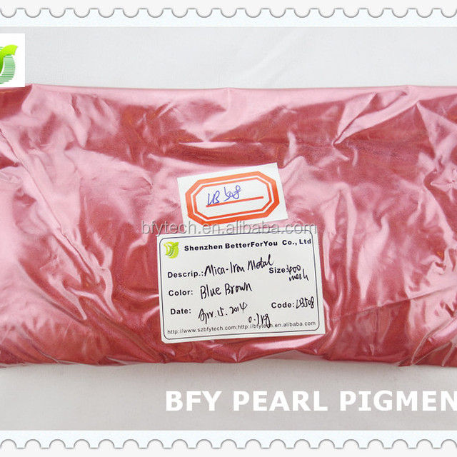 2015 Top Sale Mica-Iron Metal Pearl Pigment for Porcelain