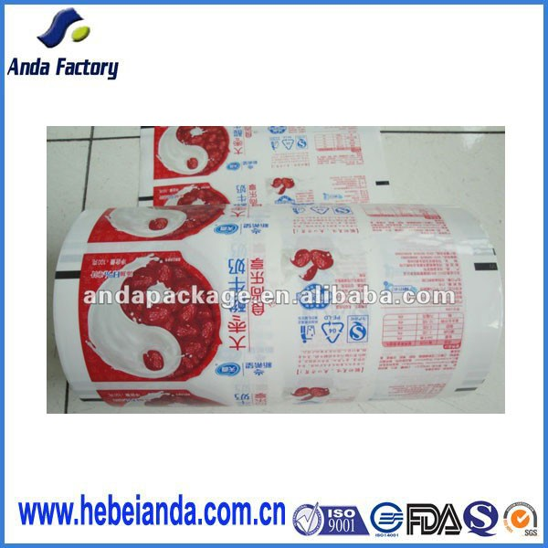 Milk powder food packaging plastic roll film