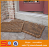 Coir Matting Outdoor Scraper Mat Striped Wire Brush Mats