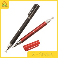 Universal 2 in 1 Precision Series cross turntable stylus pen with special pen tip and ball-point