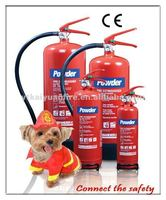 CE Approval Portable Dry Powder Fire Extinguisher
