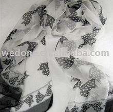 Novel Long Silk Georgette Scarf/Shawl