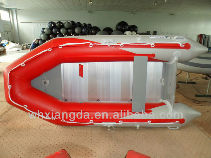inflatable pontoon polyethylene boat
