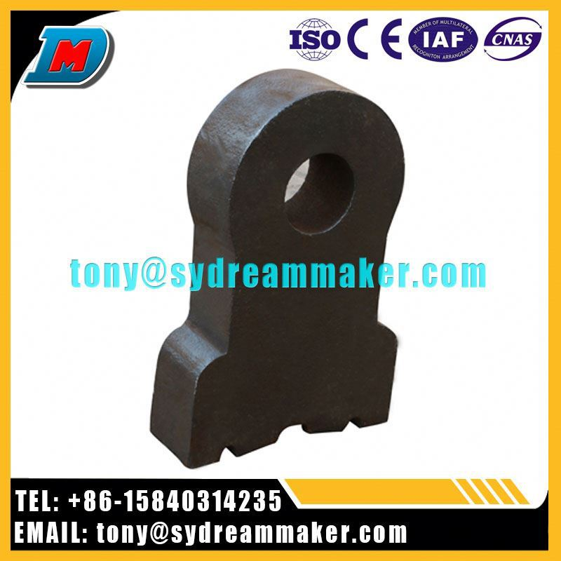Hot sale hammer crusher machine forged stainless steel casting