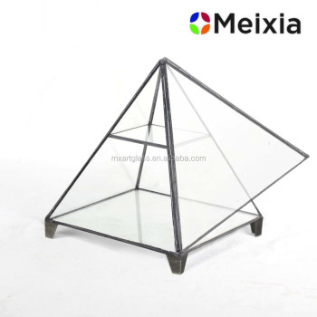 Handmade Craft Geometric Glass Terrarium for wedding decoration