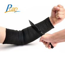 wholesale cut resistant black 15.7in protective arm sleeve for chef