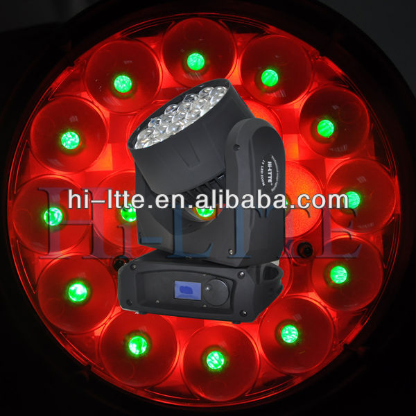19*10W led zoom light high performance auto led light moving head led