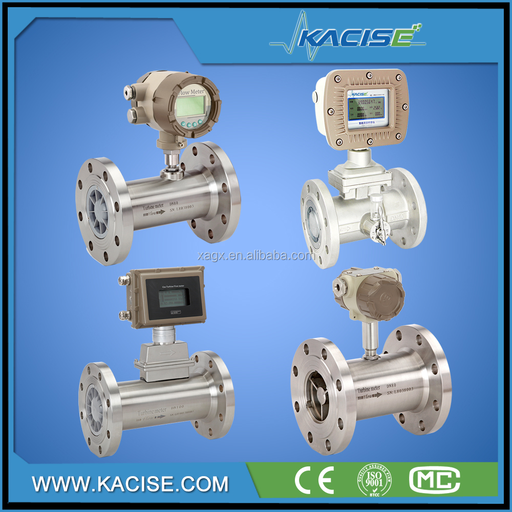 natural gas air flow meter with humidifier oxygen turbine flow meter