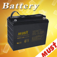 manufacturer deep cycle battery 12v 135ah ups battery for solar system