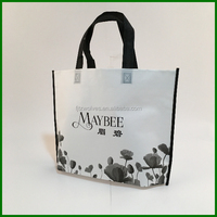 2016 hot sale folding nonwoven advertising packaging bag alibaba china supplier