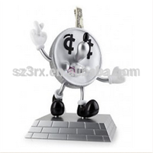 Funny kidrobot lucky coin bank coin saver money saver box for gift OEM