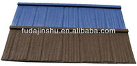 brown/coffee brown stone coated steel cheap roof tiles prices