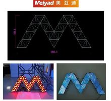 high quality P4/P5 SMD indoor background dj stage led screen