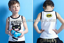 New design cotton spandex kids tshirt factory