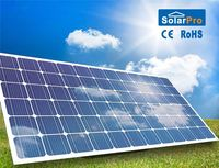 High quality q cell 120v solar panel