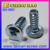 Stainless Pan Head Flange Bed Leg Screw