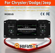HIFIMAX Android car dvd radio for Jeep Grand Cherokee 2 din car dvd player