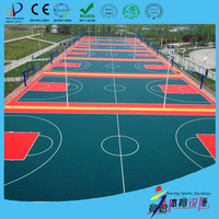 hot sale factory price indoor and outdoor portable basketball court sports flooring material made in china