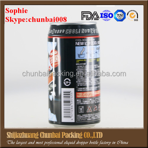 Empty aluminum aerosol cans,aluminum can 15ml 30ml 50ml 100ml for e liquid oil