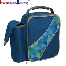 Quanzhou insulated lunch cooler bag zero degrees inner cool with bottle holder