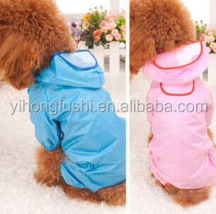 Hot Sale Pet Rain Day Clothes Simply Dog Clothes High Quality Pet Raincoat Cute Raincoats for Dog