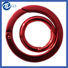 Cheap high quality small flat metal O-ring for bag