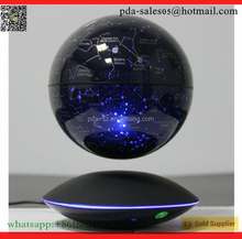 electronic acrylic magnetic levitation 6 inch star light globe fantastic