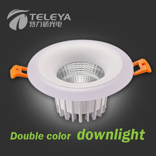 15w 18w surface mounted led square downlight 120lm/w