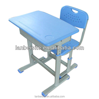 cheap price!High quality!Factory Supply !second hand school furniture for sale, height adjustable children desk and chair