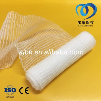 Manufacturers of medical W.O.W gauze selvage