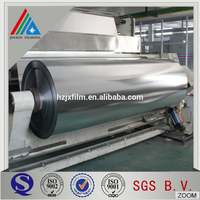metallized plastic pet membrane