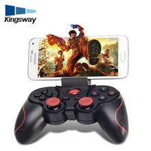 Wireless Gamepad With LED Bar For T3 Video Game Accessory for MOGA Game twin shock bluetooth gamepad T3