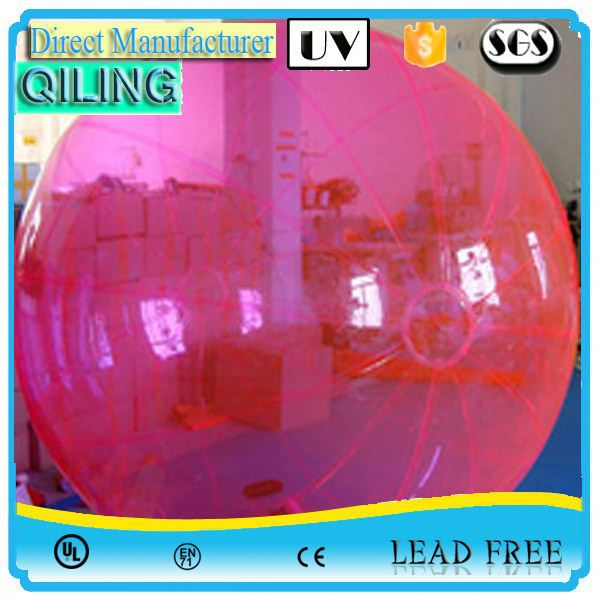 qiling Crazy fun summer sport cheap inflatable water boll sport